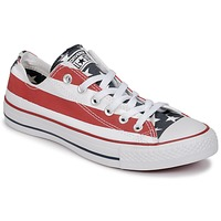 kengät Matalavartiset tennarit Converse CHUCK TAYLOR ALL STAR PRINT OX Blue / Red / White