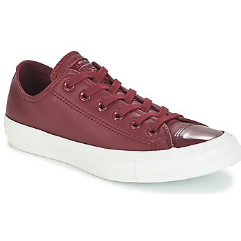 kengät Naiset Matalavartiset tennarit Converse CHUCK TAYLOR ALL STAR LEATHER OX Bordeaux