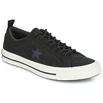 kengät Matalavartiset tennarit Converse ONE STAR LEATHER OX Black
