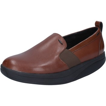 kengät Naiset Mokkasiinit Mbt slip on mocassini marrone pelle BY975 Marrone