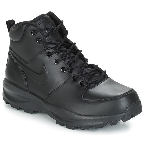 kengät Miehet Bootsit Nike MANOA LEATHER BOOT Black