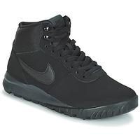kengät Miehet Bootsit Nike HOODLAND SUEDE Black