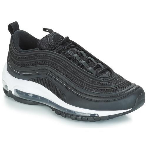 kengät Naiset Matalavartiset tennarit Nike AIR MAX 97 W Black