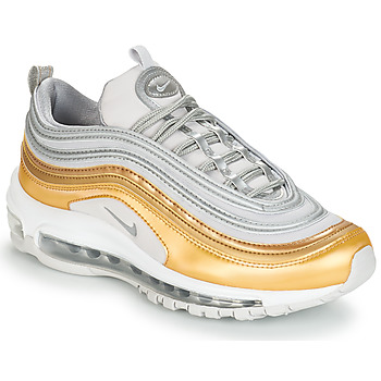 kengät Naiset Matalavartiset tennarit Nike AIR MAX 97 SPECIAL EDITION W Grey / Kulta