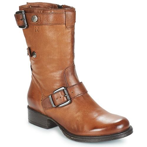 kengät Naiset Bootsit Dream in Green NARAMEL Brown