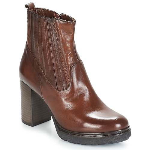 kengät Naiset Nilkkurit Dream in Green JERYCABE Brown
