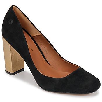 kengät Naiset Korkokengät Betty London JIFOLU Black / Kulta