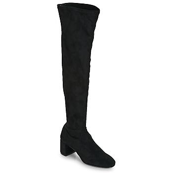 kengät Naiset Ylipolvensaappaat Betty London JOUBITU Black
