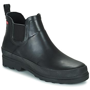 kengät Naiset Kumisaappaat Sanita FELICIA Musta