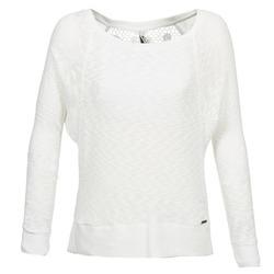 vaatteet Naiset Neulepusero Pepe jeans TWAIN White