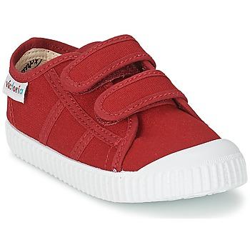 kengät Lapset Matalavartiset tennarit Victoria BLUCHER LONA DOS VELCROS Carmine