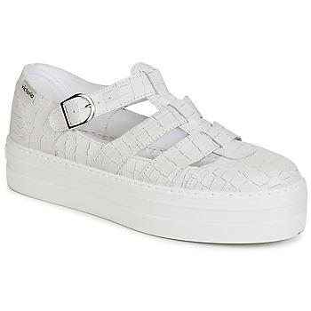 kengät Naiset Sandaalit ja avokkaat Victoria SANDALIA PIEL GRABADA COCO White