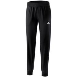 vaatteet Naiset Verryttelyhousut Erima Pantalon présentation femme  Premium One 2.0 noir