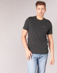 vaatteet Miehet Lyhythihainen t-paita Levi's SS ORIGINAL HM TEE Black