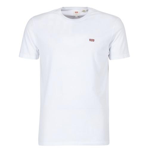 vaatteet Miehet Lyhythihainen t-paita Levi's SS ORIGINAL HM TEE White