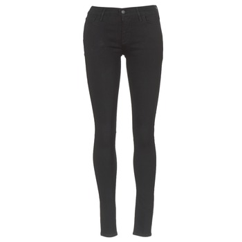 vaatteet Naiset Skinny-farkut Levi's INNOVATION SUPER SKINNY Musta