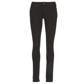 vaatteet Naiset Skinny-farkut Levi's 711 SKINNY Musta