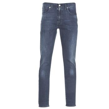 vaatteet Miehet Slim-farkut Levi's 512 SLIM TAPER FIT Blue