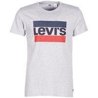 vaatteet Miehet Lyhythihainen t-paita Levi's SPORTSWEAR LOGO GRAPHIC Grey