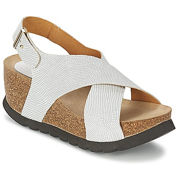 kengät Naiset Sandaalit ja avokkaat Ganadora SARA White