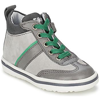 kengät Lapset Korkeavartiset tennarit Acebo's ABARNE Grey