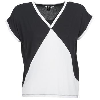 vaatteet Naiset Lyhythihainen t-paita Nikita NEWSON Black / White