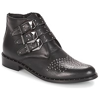 kengät Naiset Bootsit Sweet Lemon ELUCY Black