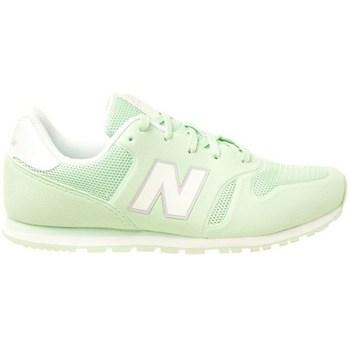 kengät Lapset Matalavartiset tennarit New Balance 373 Vaaleanvihreä