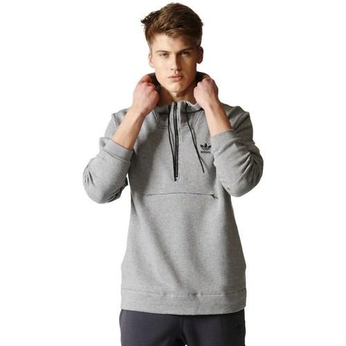 vaatteet Miehet Svetari adidas Originals Originals Shadow Tones Half Zip Harmaat