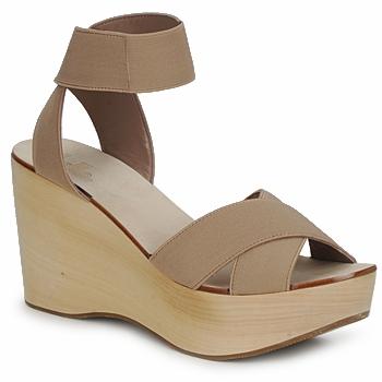 kengät Naiset Sandaalit ja avokkaat Belle by Sigerson Morrison ELASTIC Nude
