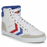 kengät Korkeavartiset tennarit Hummel STADIL HIGH White / Blue / Red