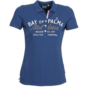 vaatteet Naiset Lyhythihainen poolopaita Gaastra MISTY Blue