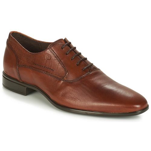 kengät Miehet Herrainkengät Carlington JIPINO Cognac