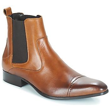 kengät Miehet Bootsit Carlington ERINZI Cognac