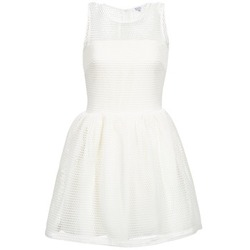 vaatteet Naiset Lyhyt mekko Brigitte Bardot AGNES White