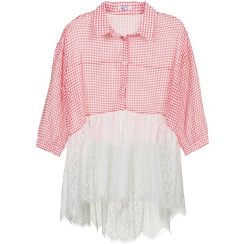 vaatteet Naiset Paitapusero / Kauluspaita Brigitte Bardot AMBRE Red / White