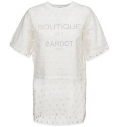 vaatteet Naiset Svetari Brigitte Bardot ANASTASIE Ecru