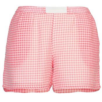 vaatteet Naiset Shortsit / Bermuda-shortsit Brigitte Bardot ANNE Punainen / Valkoinen