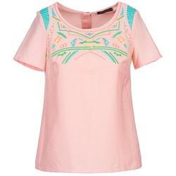 vaatteet Naiset Topit / Puserot Color Block ADRIANA Pink