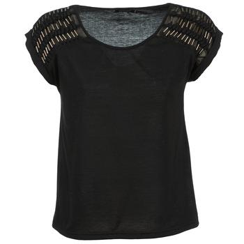 vaatteet Naiset Topit / Puserot Color Block AILEEN Black