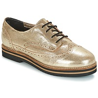 kengät Naiset Derby-kengät Coolway AVO Gold / Black