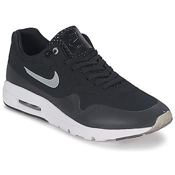 kengät Naiset Matalavartiset tennarit Nike AIR MAX 1 ULTRA MOIRE Black