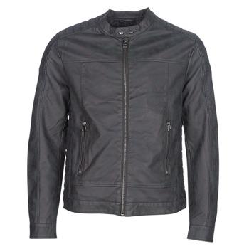 vaatteet Miehet Nahkatakit / Tekonahkatakit Esprit VENI Black