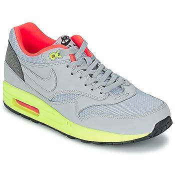 kengät Miehet Matalavartiset tennarit Nike AIR MAX 1 FB Grey / Green / CORAIL