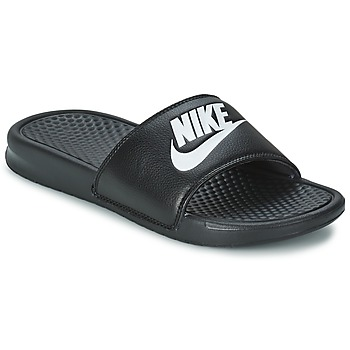 kengät Miehet Sandaalit Nike BENASSI JUST DO IT Black