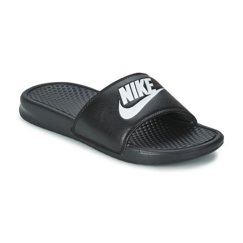 kengät Miehet Rantasandaalit Nike BENASSI JUST DO IT Black