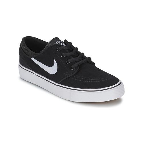 kengät Pojat Matalavartiset tennarit Nike STEFAN JANOSKI ENFANT Black