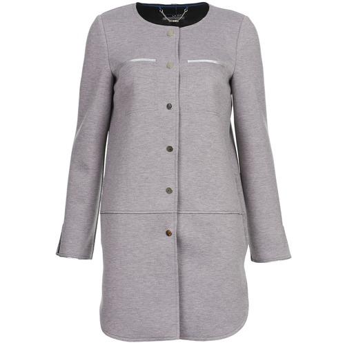 vaatteet Naiset Paksu takki La City FLORA Grey