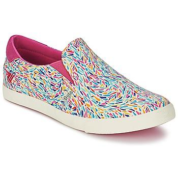 kengät Naiset Tennarit Gola DELTA LIBERTY KT White / Pink / Blue