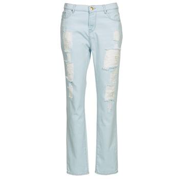 vaatteet Naiset Suorat farkut Cimarron BOY Blue / CLAIR